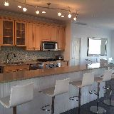superb open kitchen on 2nd floor common area