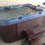all weather (under deck) spa for 4; ocean view & outdoor sound system !